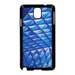 Lines Geometry Architecture Texture Samsung Galaxy Note 3 Neo Hardshell Case (black) by Simbadda
