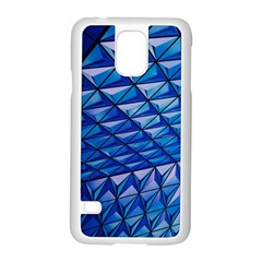 Lines Geometry Architecture Texture Samsung Galaxy S5 Case (white) by Simbadda
