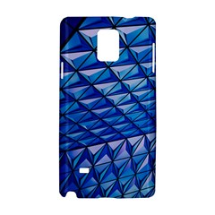 Lines Geometry Architecture Texture Samsung Galaxy Note 4 Hardshell Case by Simbadda