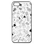 Furniture Black Decor Pattern Apple iPhone 5 Seamless Case (Black) Front