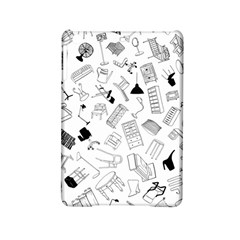 Furniture Black Decor Pattern Ipad Mini 2 Hardshell Cases by Simbadda