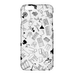 Furniture Black Decor Pattern Apple Iphone 6 Plus/6s Plus Hardshell Case by Simbadda