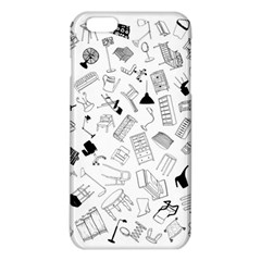 Furniture Black Decor Pattern Iphone 6 Plus/6s Plus Tpu Case by Simbadda