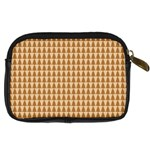 Pattern Gingerbread Brown Digital Camera Cases Back