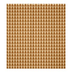 Pattern Gingerbread Brown Shower Curtain 66  X 72  (large)  by Simbadda