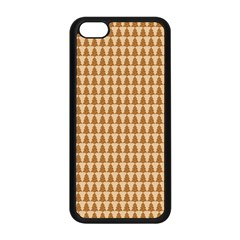 Pattern Gingerbread Brown Apple Iphone 5c Seamless Case (black) by Simbadda