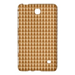 Pattern Gingerbread Brown Samsung Galaxy Tab 4 (7 ) Hardshell Case  by Simbadda