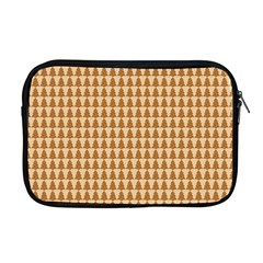 Pattern Gingerbread Brown Apple Macbook Pro 17  Zipper Case by Simbadda