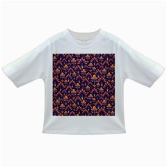 Abstract Background Floral Pattern Infant/toddler T Shirts