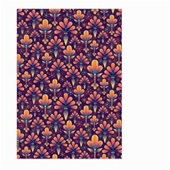 Abstract Background Floral Pattern Large Garden Flag (two Sides)