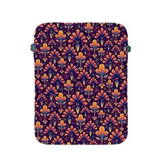 Abstract Background Floral Pattern Apple Ipad 2/3/4 Protective Soft Cases by Simbadda