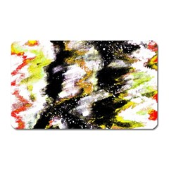 Canvas Acrylic Digital Design Magnet (rectangular) by Simbadda