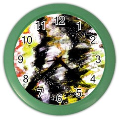 Canvas Acrylic Digital Design Color Wall Clocks by Simbadda