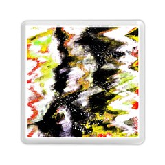 Canvas Acrylic Digital Design Memory Card Reader (square)  by Simbadda