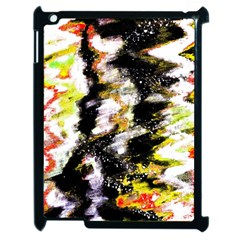 Canvas Acrylic Digital Design Apple Ipad 2 Case (black) by Simbadda