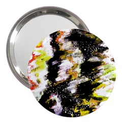 Canvas Acrylic Digital Design 3  Handbag Mirrors by Simbadda