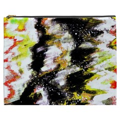 Canvas Acrylic Digital Design Cosmetic Bag (xxxl)
