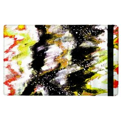 Canvas Acrylic Digital Design Apple Ipad 3/4 Flip Case by Simbadda