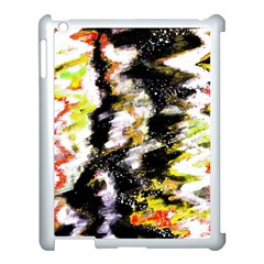 Canvas Acrylic Digital Design Apple Ipad 3/4 Case (white)