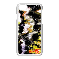 Canvas Acrylic Digital Design Apple Iphone 7 Seamless Case (white) by Simbadda