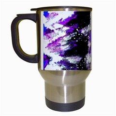 Canvas Acrylic Digital Design Travel Mugs (white) by Simbadda
