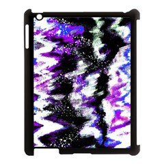 Canvas Acrylic Digital Design Apple Ipad 3/4 Case (black) by Simbadda