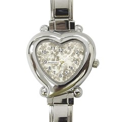 Wall Rock Pattern Structure Dirty Heart Italian Charm Watch by Simbadda