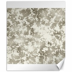 Wall Rock Pattern Structure Dirty Canvas 8  X 10  by Simbadda