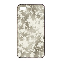 Wall Rock Pattern Structure Dirty Apple Iphone 4/4s Seamless Case (black) by Simbadda