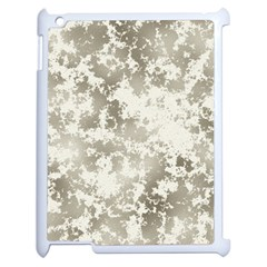 Wall Rock Pattern Structure Dirty Apple Ipad 2 Case (white) by Simbadda