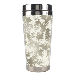 Wall Rock Pattern Structure Dirty Stainless Steel Travel Tumblers by Simbadda