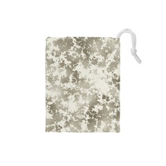 Wall Rock Pattern Structure Dirty Drawstring Pouches (small)  by Simbadda