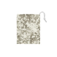 Wall Rock Pattern Structure Dirty Drawstring Pouches (xs)  by Simbadda