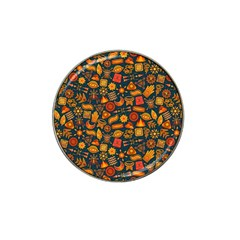 Pattern Background Ethnic Tribal Hat Clip Ball Marker by Simbadda