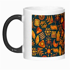 Pattern Background Ethnic Tribal Morph Mugs by Simbadda