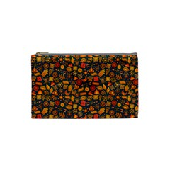 Pattern Background Ethnic Tribal Cosmetic Bag (small)  by Simbadda