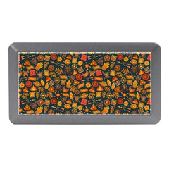 Pattern Background Ethnic Tribal Memory Card Reader (mini) by Simbadda