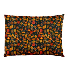 Pattern Background Ethnic Tribal Pillow Case (two Sides) by Simbadda