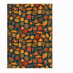 Pattern Background Ethnic Tribal Large Garden Flag (two Sides) by Simbadda