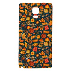 Pattern Background Ethnic Tribal Galaxy Note 4 Back Case by Simbadda