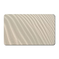 Sand Pattern Wave Texture Magnet (rectangular) by Simbadda