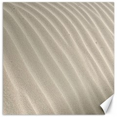 Sand Pattern Wave Texture Canvas 12  X 12   by Simbadda