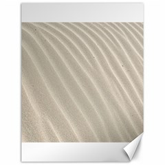 Sand Pattern Wave Texture Canvas 12  X 16   by Simbadda