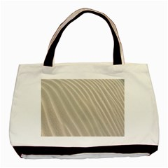 Sand Pattern Wave Texture Basic Tote Bag (two Sides) by Simbadda