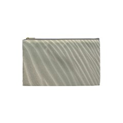 Sand Pattern Wave Texture Cosmetic Bag (small)  by Simbadda