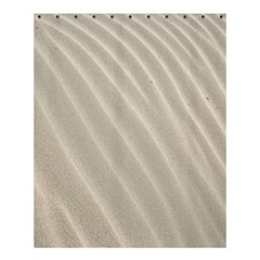 Sand Pattern Wave Texture Shower Curtain 60  X 72  (medium)  by Simbadda