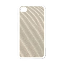 Sand Pattern Wave Texture Apple Iphone 4 Case (white)