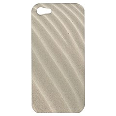 Sand Pattern Wave Texture Apple Iphone 5 Hardshell Case by Simbadda