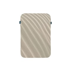Sand Pattern Wave Texture Apple Ipad Mini Protective Soft Cases by Simbadda