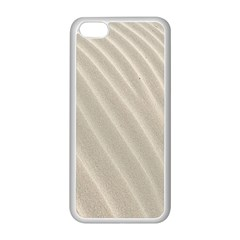 Sand Pattern Wave Texture Apple Iphone 5c Seamless Case (white)